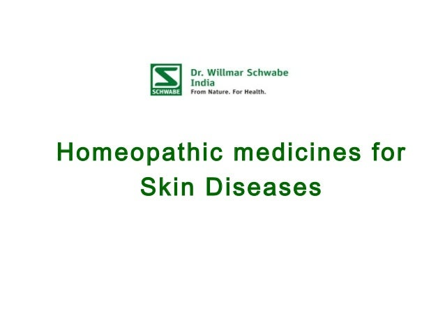 Homeopathic medicines for Skin Diseases