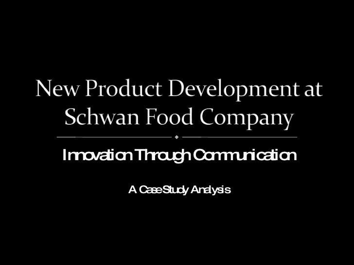 Innovation Through Communication A Case Study Analysis