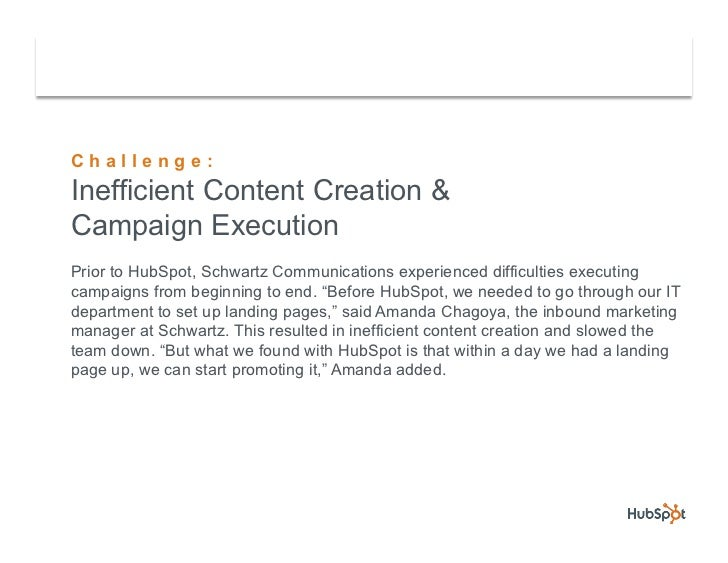 Schwartz Communications Converts More Leads with HubSpot Slide 3
