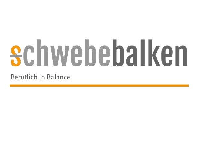 Beruflichin Balance