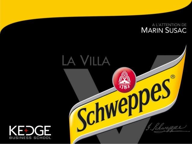 Schweppes / Villa Schweppes New concept 2013 by William Belle, Jean-Christophe Madlaing, Mathieu Chaumard et Pauline Lambert Slide 2