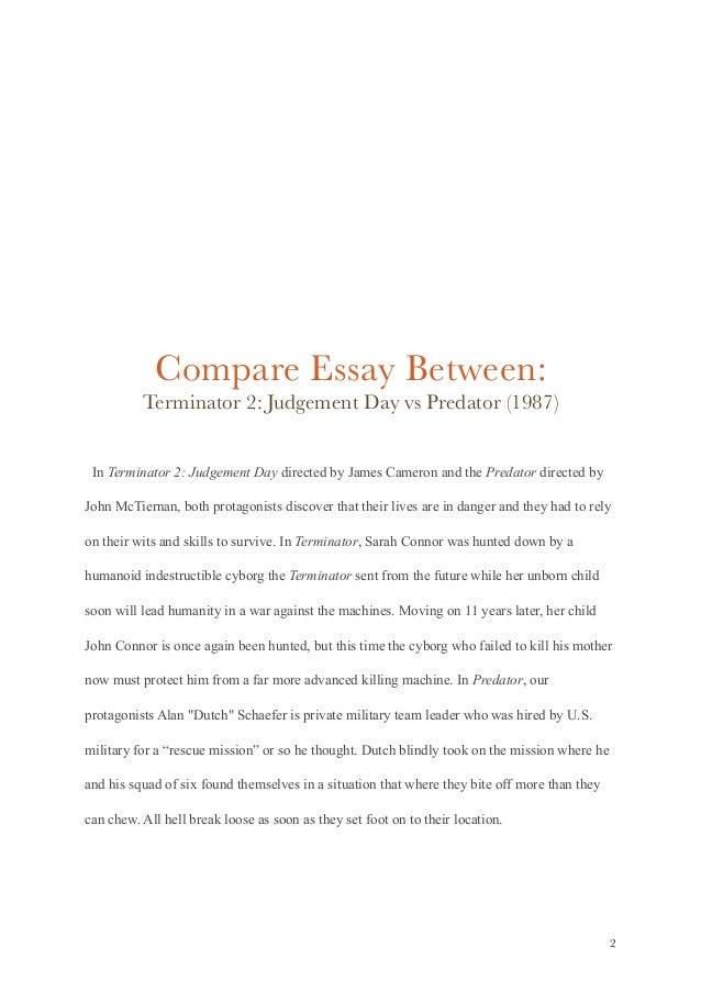 essay on a movie