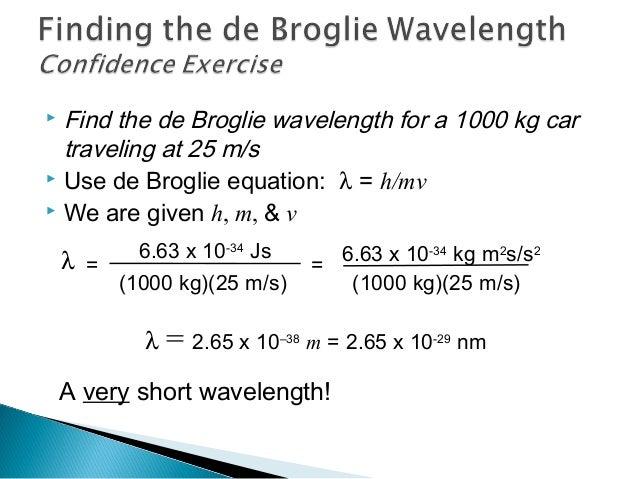 48c778c49253 ... 74.  Find the de Broglie wavelength ...