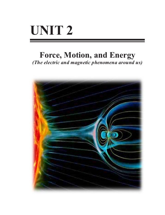 Grade 10 Science Learner' Material Unit 2-Force, Motion and Energy