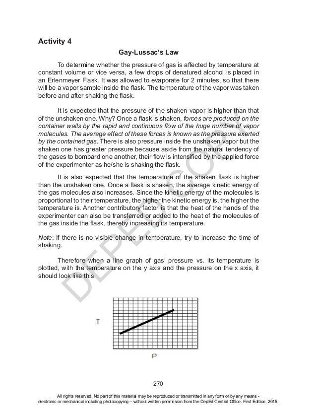 Sci10 tg u4 – Gay Lussac Law Worksheet