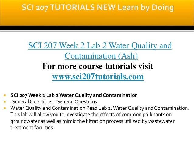 SCI 207 ASH Course Tutorial / sci207dotcom