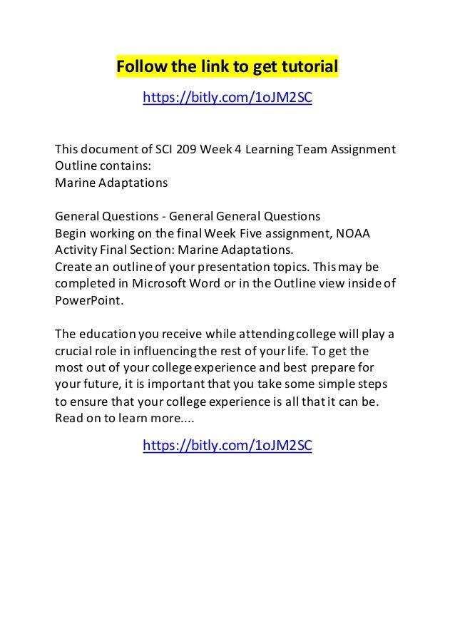 SC1040: Week 5 Assignment Worksheet - The human body