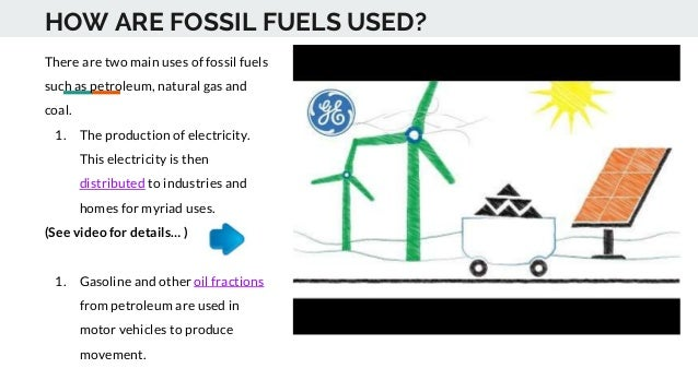 Sci3 lesson fossil fuels