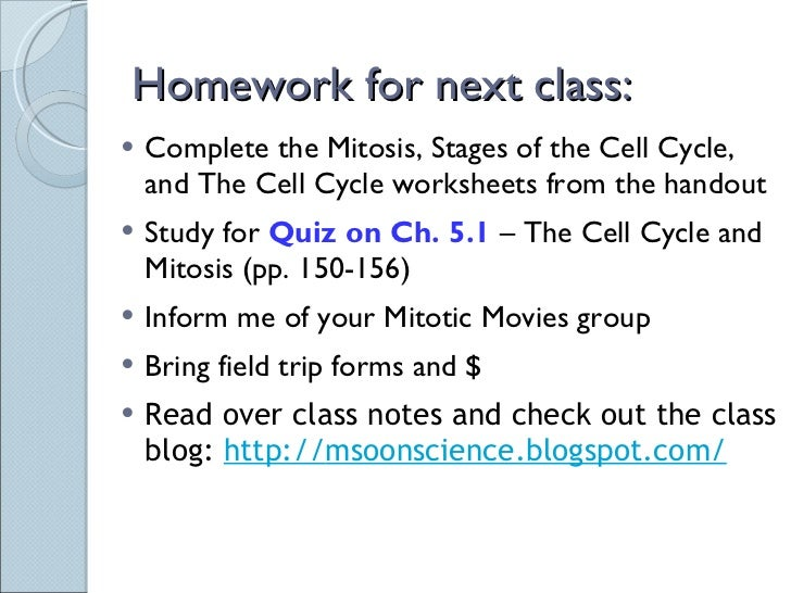 Sci 9 Lesson 2 Feb 23 Ch 51 Mitosis – Mitosis Notes Worksheet