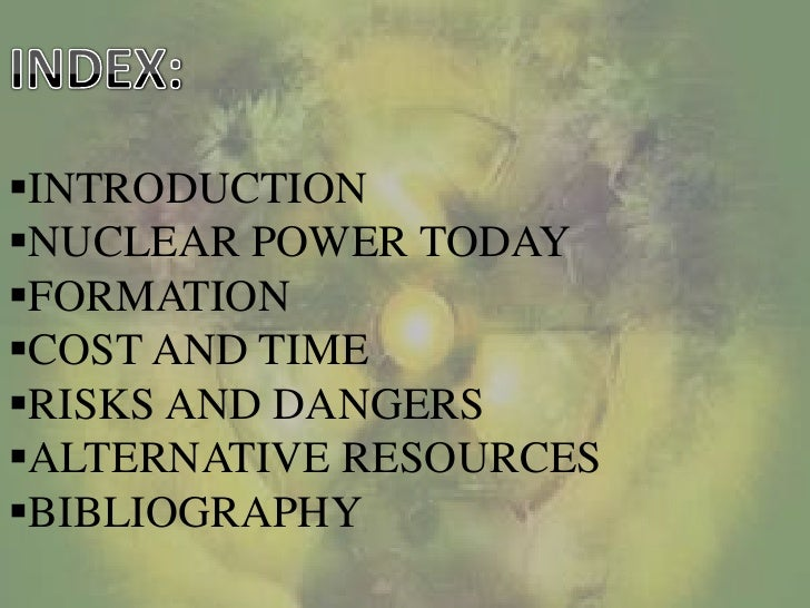 nuclear energy an alternate solution for A collection of ted talks (and more) on the topic of nuclear energy  it's the  question of our generation: can we find a sustainable alternative to oil  and  activists present stern warnings and visionary solutions for the energy of  tomorrow.