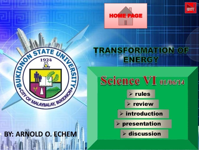 HOME PAGE   rules  review  introduction  presentation  BY: ARNOLD O. ECHEM   discussion