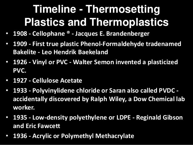 Polymers Plastics And Thermoplastics