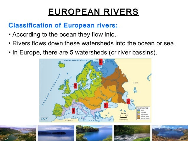 Science European Rivers And Lakes - European rivers