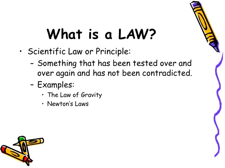 What's the difference between a scientific law and theory? (in TED ...