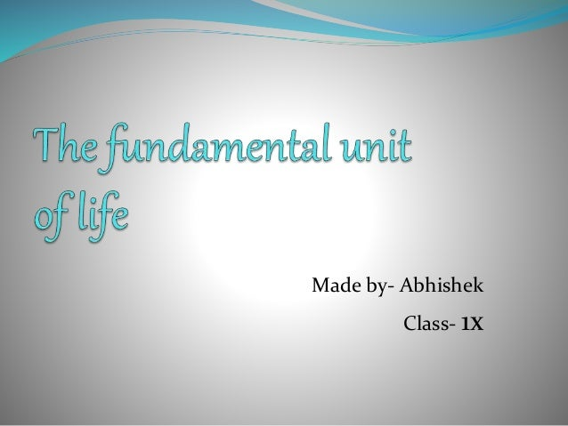 Science ppt for class IX CBSE