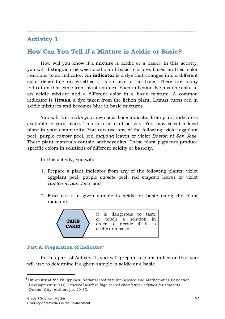 __________________________________________________________________________Activity 1How Can You Tell if a Mixture is Acidi...