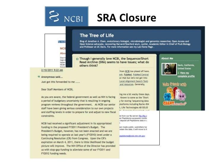 SRA Closure<br />