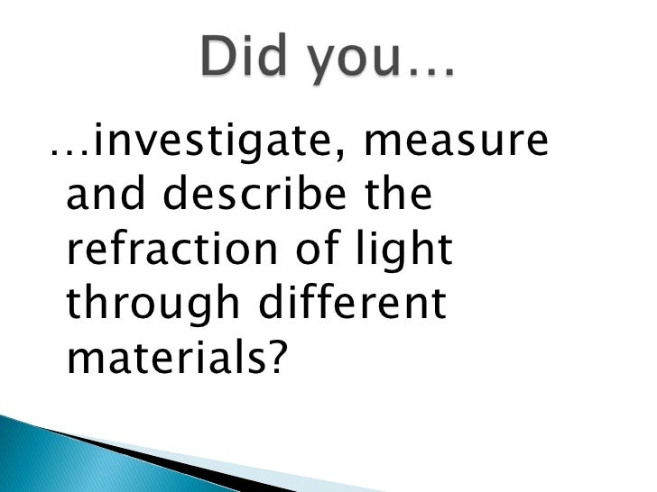 Science8 Unit C Lightand Optics Section2 Lesson4 Mirrors