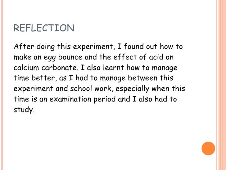 Science Experiment 2