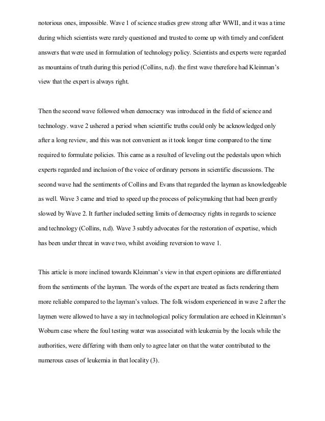 The Importance Of English Essay Science Technology Essay Topic For English Essay also Essay On Importance Of Good Health Science Technology Essay  Exolgbabogadosco Proposal Essay Outline