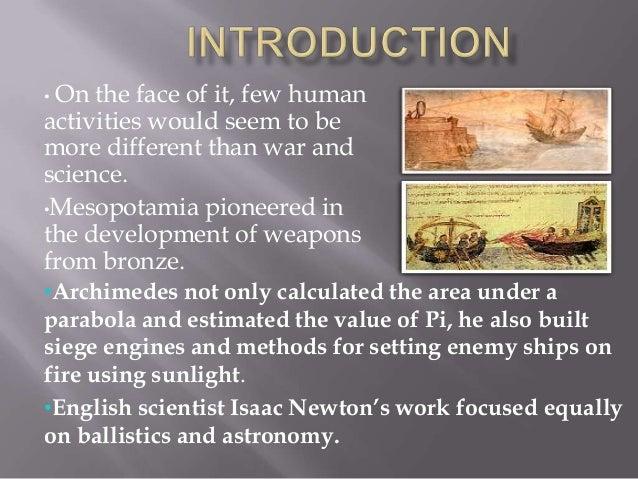 World war 1 inventions essay