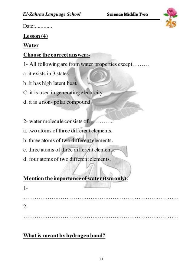 Physical chemical properties worksheet high school