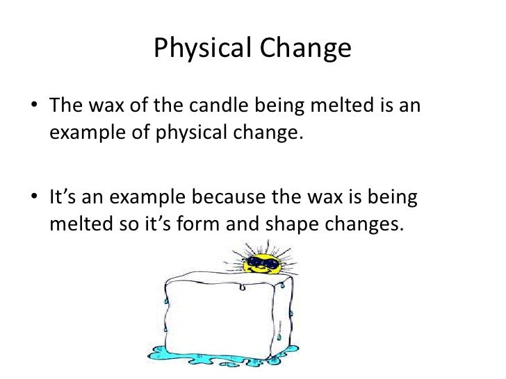 Science Chemical And Physical Change Ppt Pptm