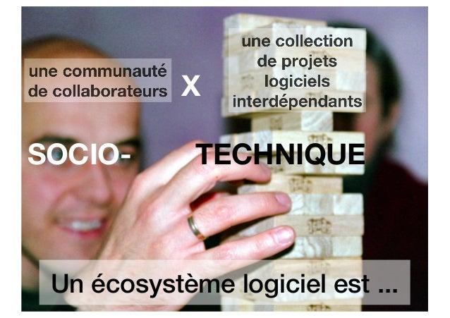 La santé des écosystèmes des logiciels open source Slide 3