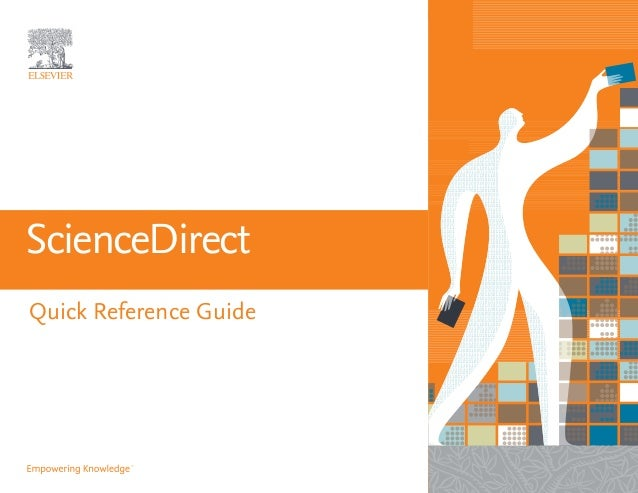 sciencedirect slideshare reference quick guide