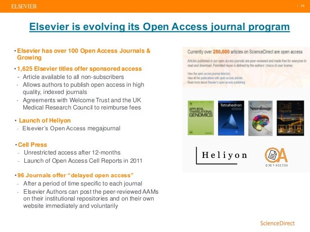 The Value of Elsevier's ScienceDirect