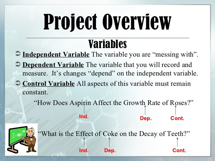 science fair projects with variables Get ideas for 8th grade science fair projects these are experiments and topics suitable for upper middle school level science fair projects.