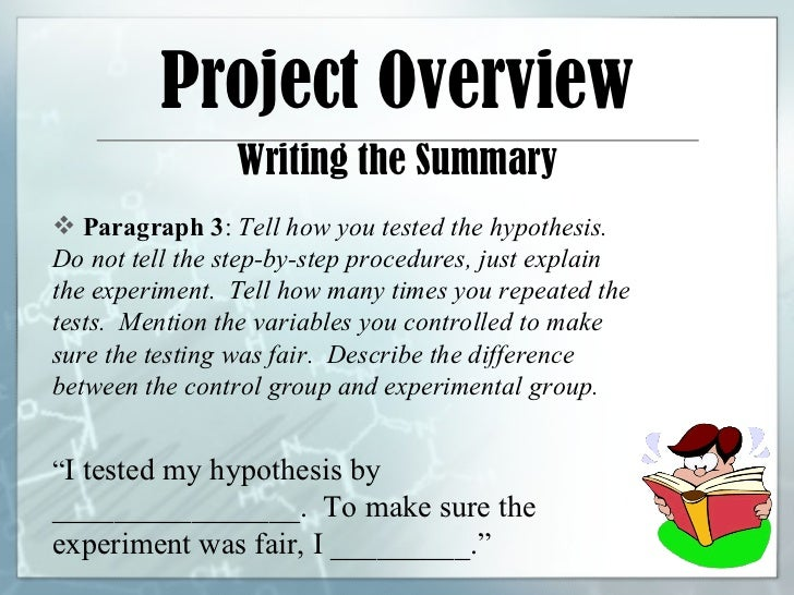 science projects procedures