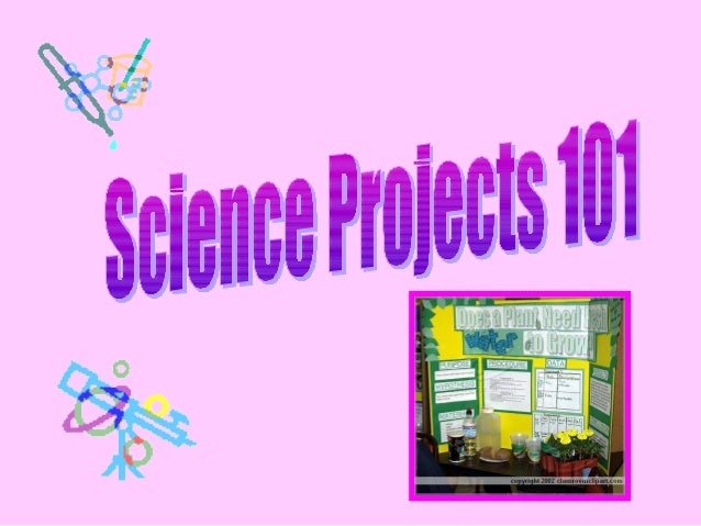 • Investigative In this type of project you ask a question, construct a hypothesis, test your hypothesis using an experime...