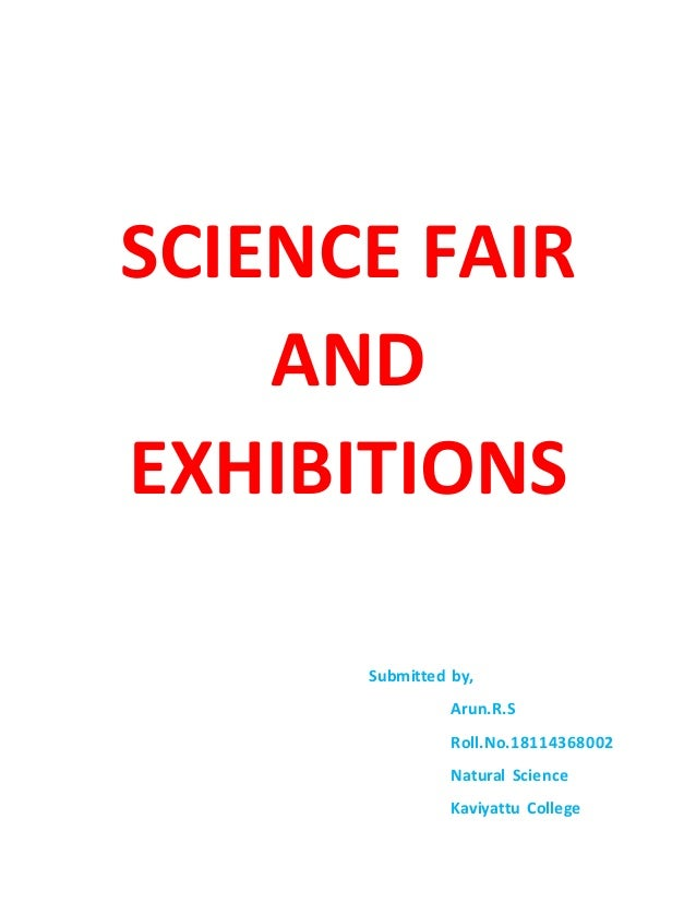 Science fair and exhibitions