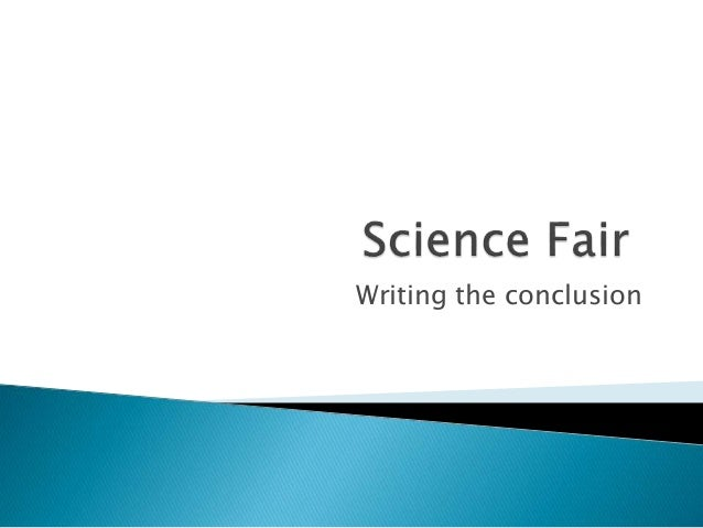 How to Write a Conclusion to a Science Research Paper