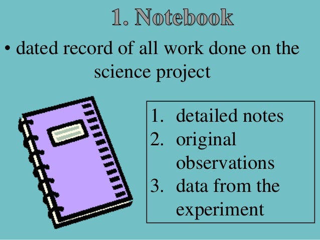 science fair powerpoint 2012