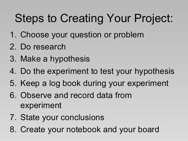 How to Write a Logbook for a Science Project