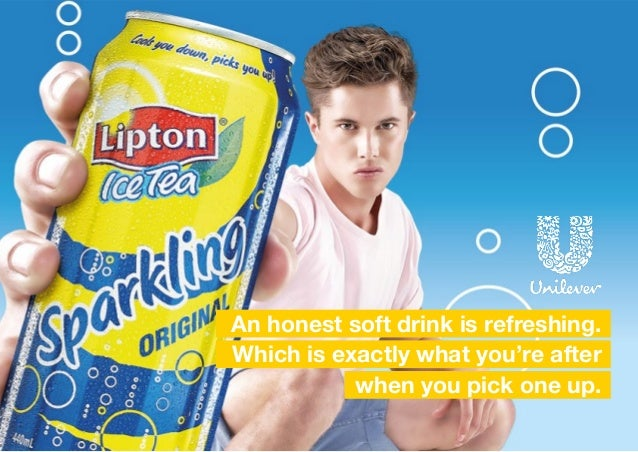 An honest soft drink is refreshing. Which is exactly what you're after when you pick one up.