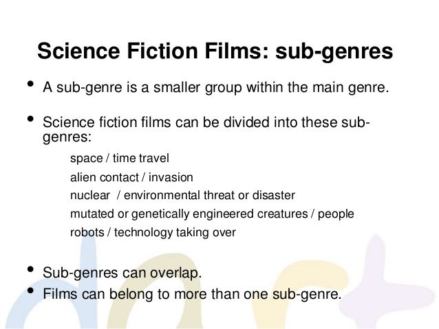 Science Fiction Genre Fin Science Fiction