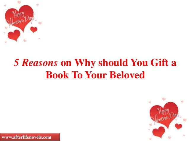 5 Reasons on Why should You Gift a Book To Your Beloved www.afterlifenovels.com