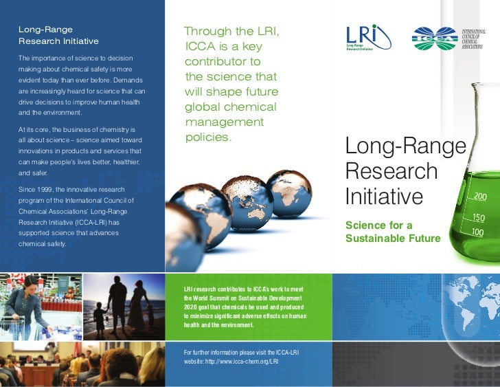 Long-Range                                    Through the LRI,Research Initiative                                         ...