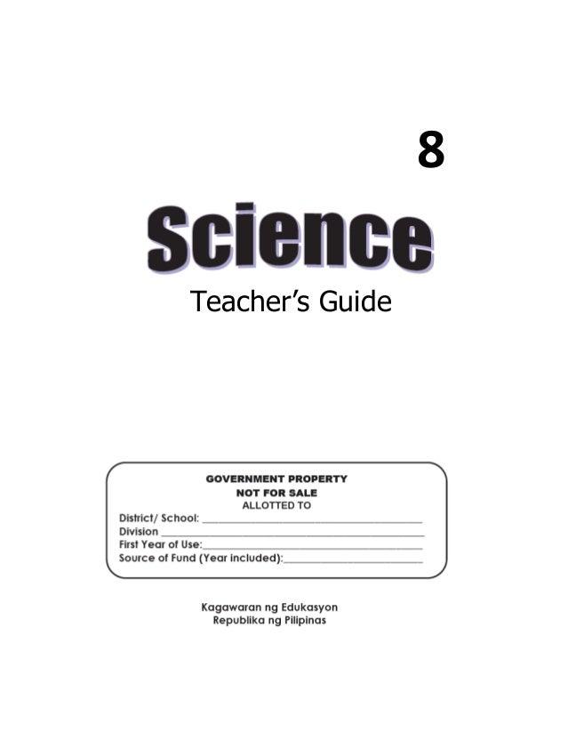 8 Teacher's Guide
