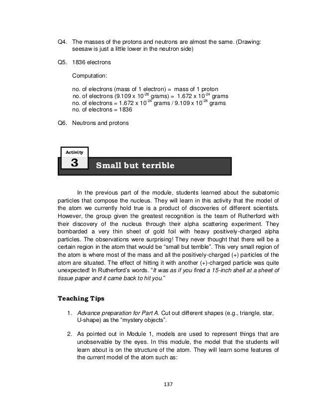 Science Grade 8 Teachers Manual