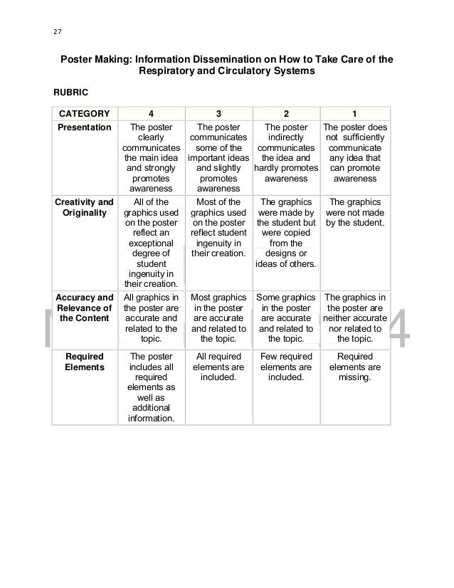 Rubric For Cardiovascular System Diagram - Block And Schematic ...