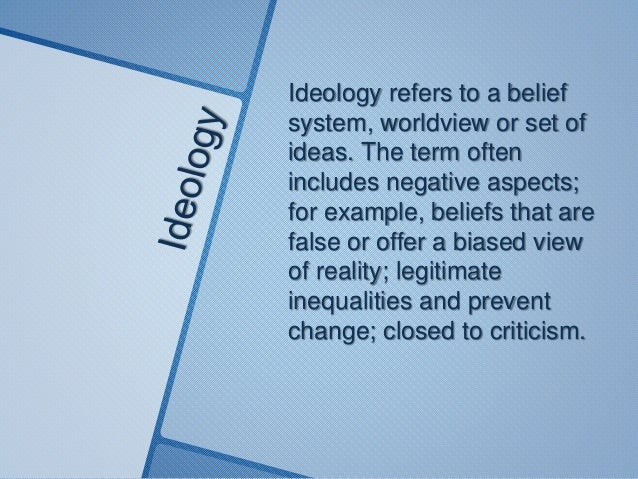 Belief system term paper
