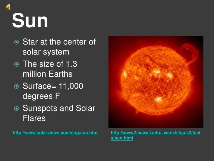 sun as center of solar system - photo #20