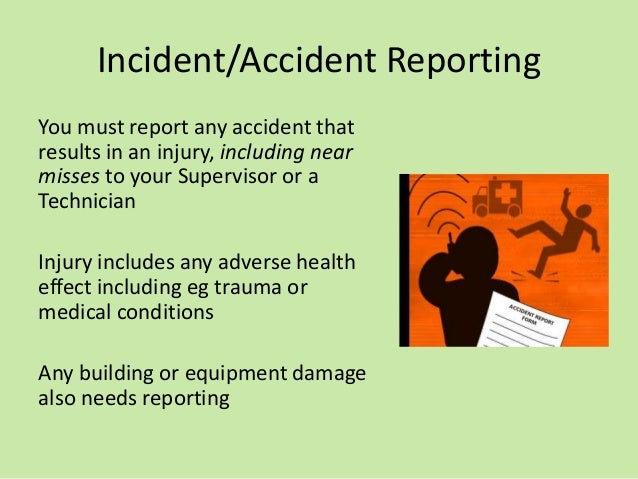 accident report incident in chemistry laboratory Future undergraduates future postgraduates current students our courses course planning and enrolment course coordinators advisers and support forms and resources.
