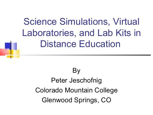 Stimulating Science Simulations |Science Simulations