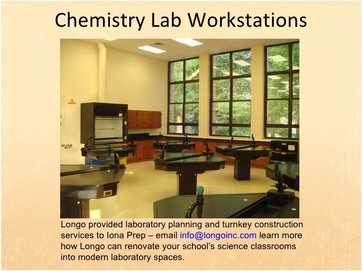 Modern Chemistry Classroom ~ Science lab workstations for school classrooms