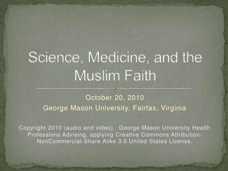 October 20, 2010<br />George Mason University, Fairfax, Virginia<br />Copyright 2010 (audio and video).  George Mason Univ...